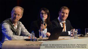 Photographie Horse Development aux assises de la filière équine, accompagnée par M. Pignolet et Equicer FRANCE