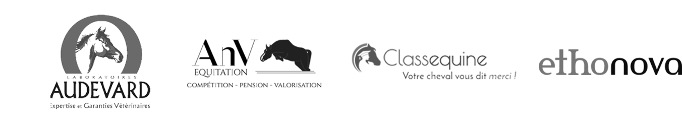 Audevard, AnV équitation, Classequine, Ethonova, Equ'hip avocat, Equipeer sport